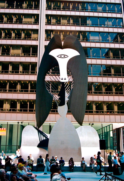 Picasso Statue by James Bickler