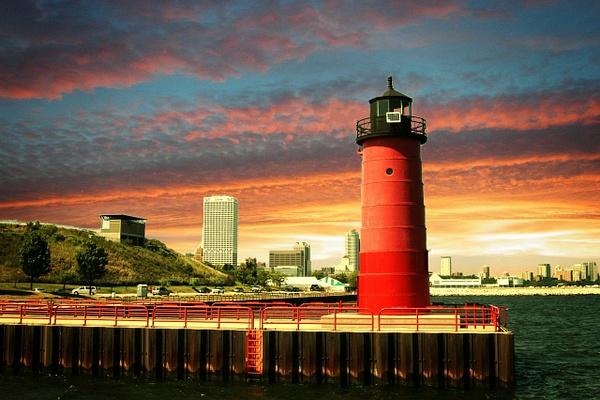 Harbor Light House_pe by James Bickler