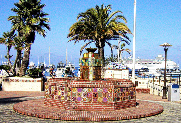 Avalon Fountain_pe by James Bickler