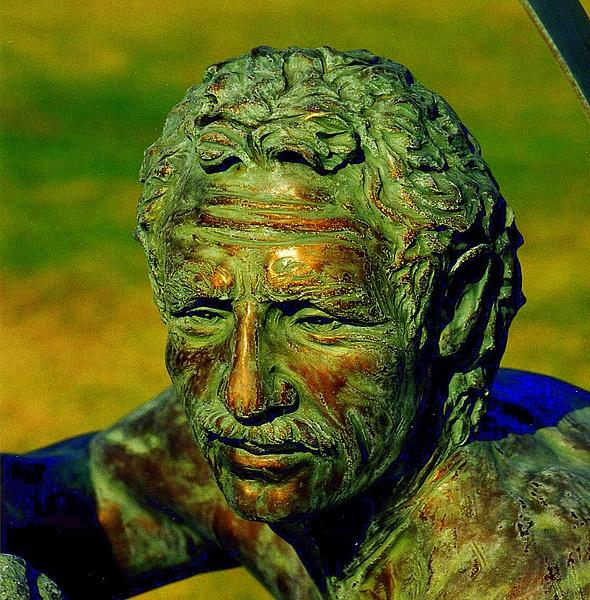 PS Bronze Man 4x4-001 by James Bickler