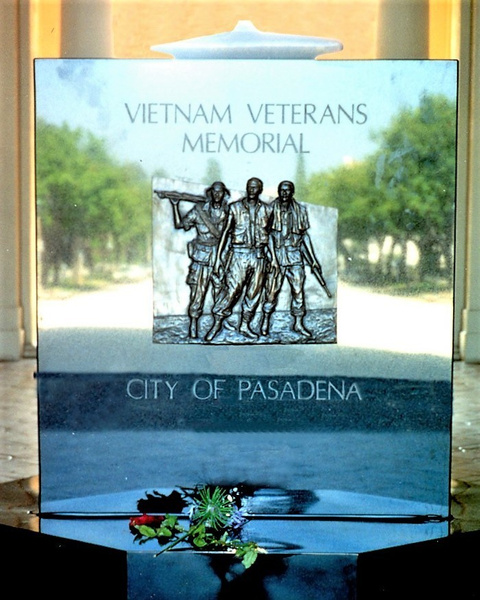 Memorial Pasadena-001 (2) by James Bickler