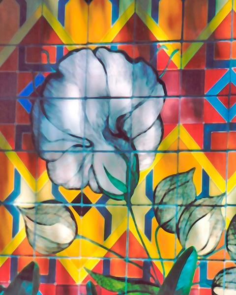 Pasadena tile Wall 2 by James Bickler