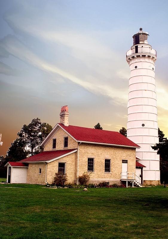 Door Cty Lighthouse-2 A