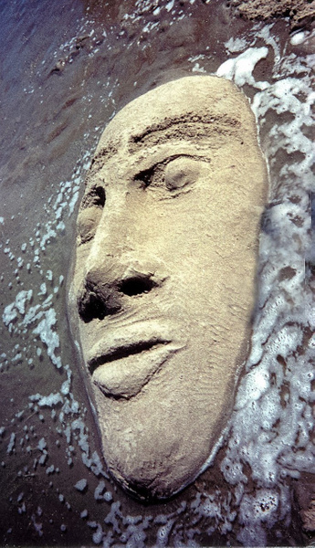 Pacific Sand Face (2) by James Bickler