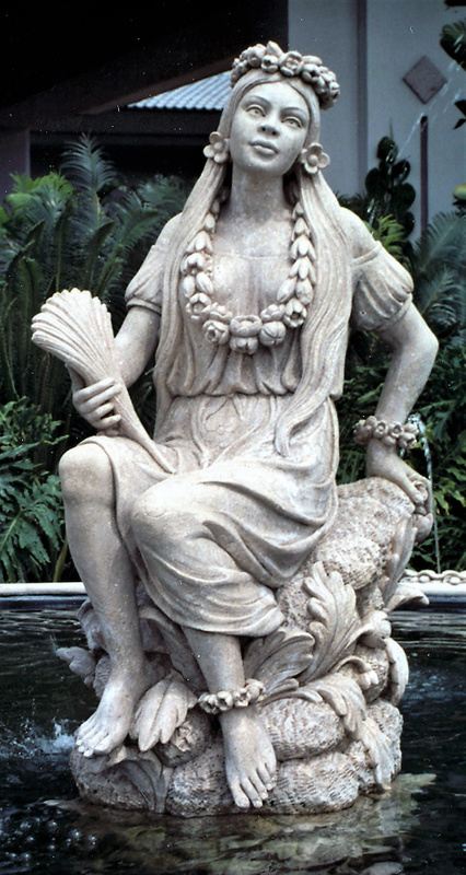 Hawaian Statue (2)