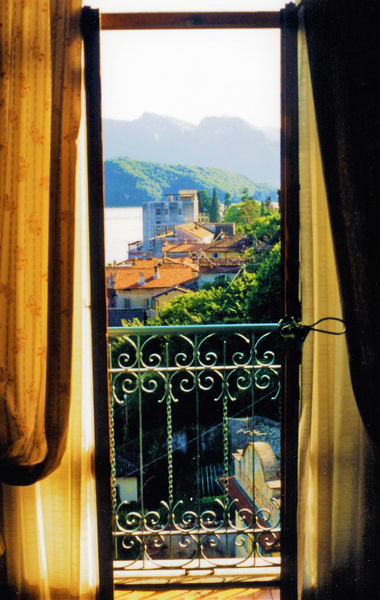 Lake Como View by James Bickler