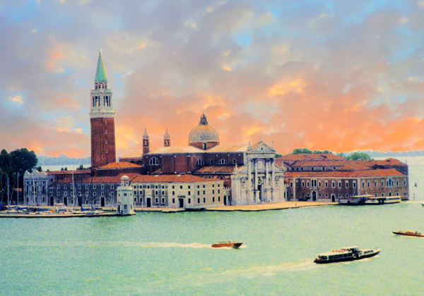 Venice Cathederal A_pe_pe by James Bickler