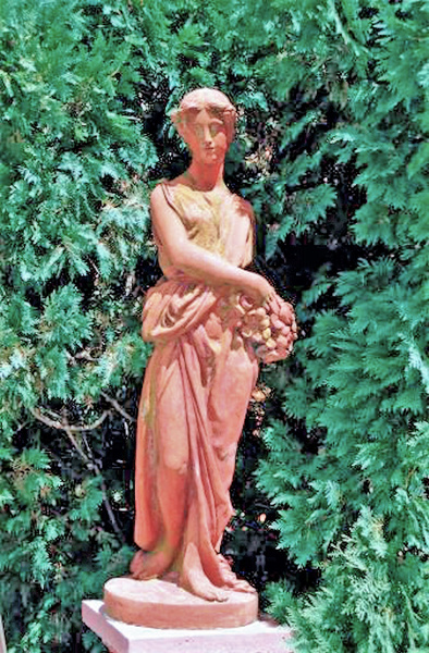 Cuneo Pink Statue A 8.02 by James Bickler