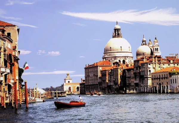 Scenic Italy by James Bickler