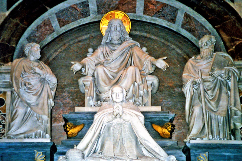 St Peter's Statue - Copy