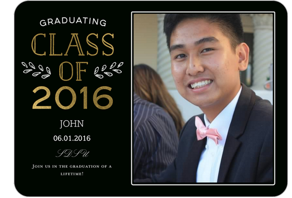 5 Graduation Invitations by JasminePhan26256