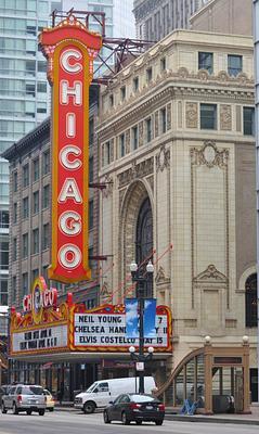 Chicago walk about.