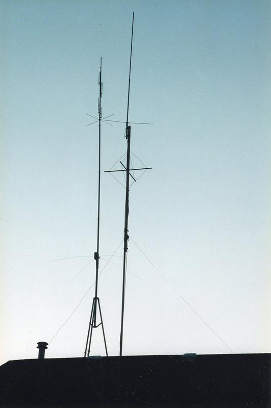 WB9VTF  R5 vertical used in 1996 ARRL 160