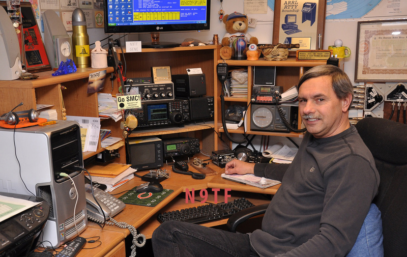 N9TF Station January 2013, 756 ProIII, FT 897D, DR-235, IC-228A