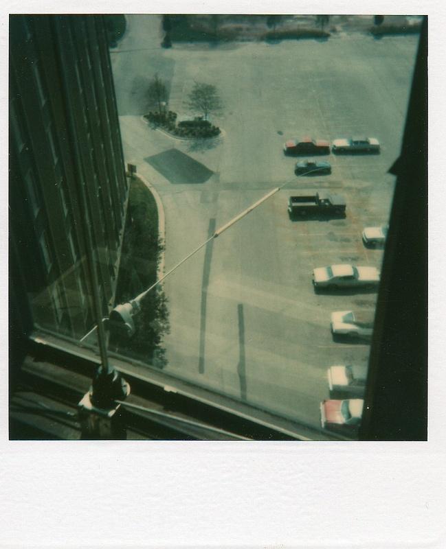 Palatine apartment 10th floor antenna. 1978-1980