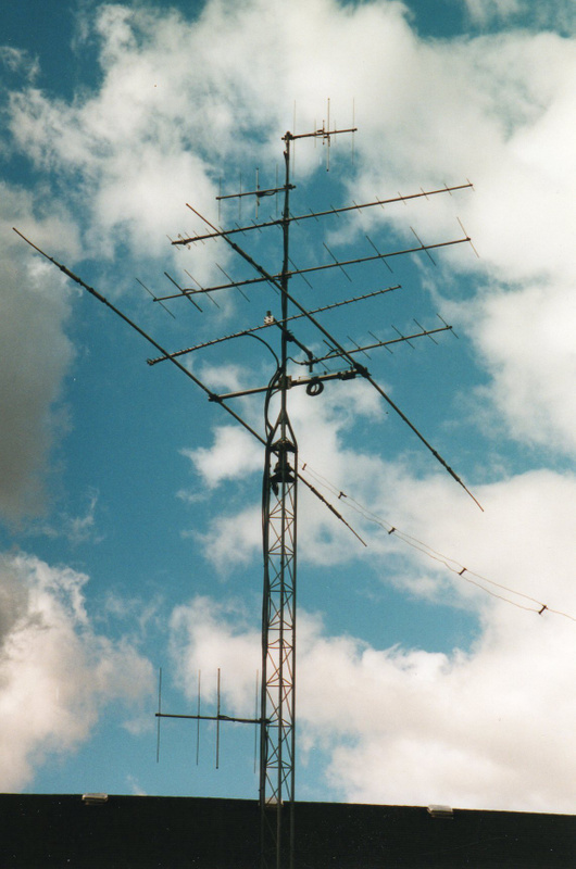 N9TF Early 2000's antennas, from 160 meters to 23 centimeters, inclusive.