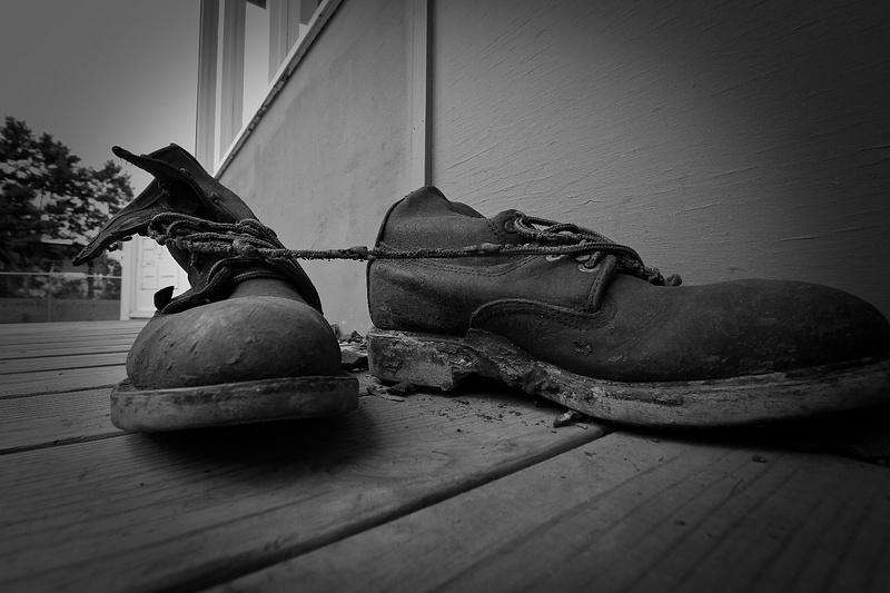 Oak Ridge WWII Dirty Boots