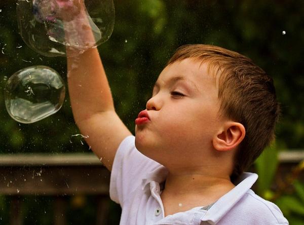 Fin Bubble Burst by aaronhollows