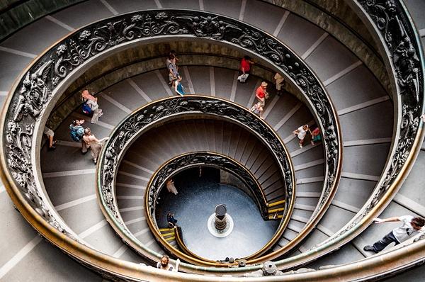 Vatican Stairs by JamesLim
