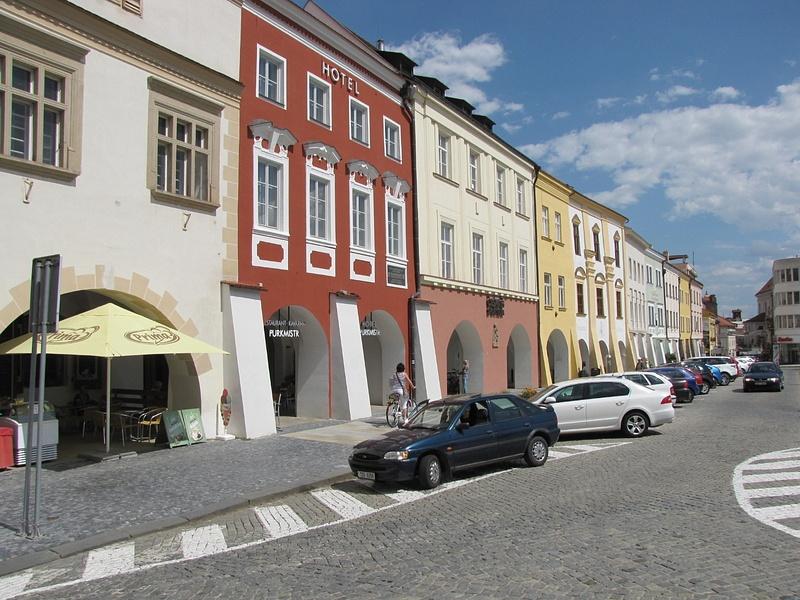 Česko (Csehország), Kroměříž, Arcibiskupský zámek, SzG3    Česko (Csehország), Kroměříž, SzG3