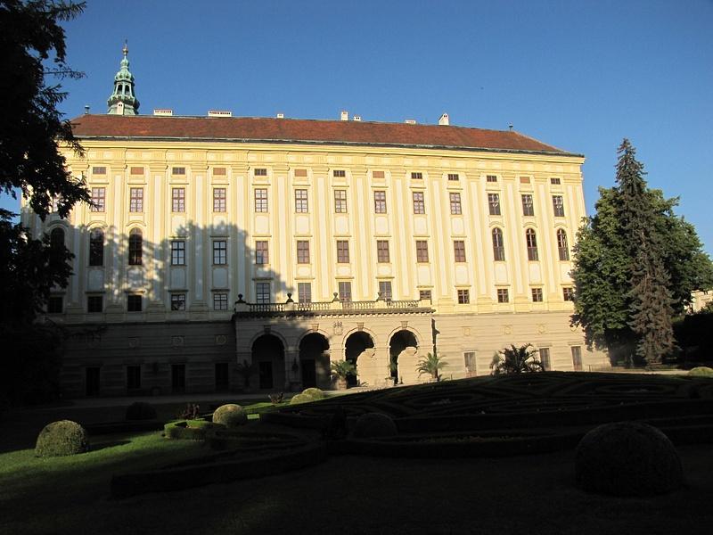 Česko (Csehország), Kroměříž, Arcibiskupský zámek, SzG3