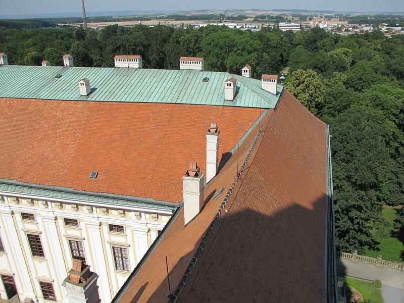 Česko (Csehország), Kroměříž, Arcibiskupský zámek, SzG3    Česko (Csehország), Kroměříž, Arcibiskupský zámek, Sz