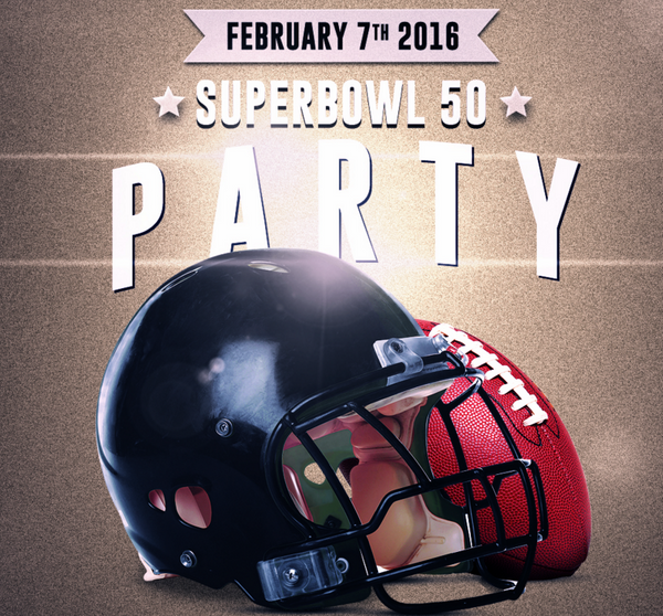 SuperBowl 50 Party 2016 by MB Sports Zone Network by MB Sports Zone Network