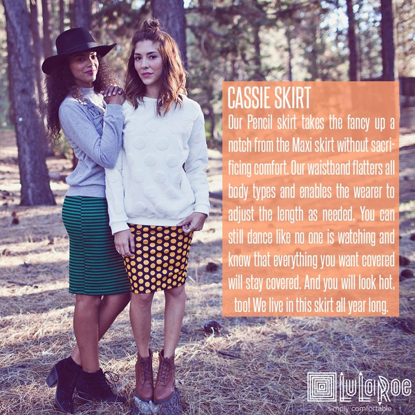 The Cassie Skirt by LularoechicsRebeccaashley