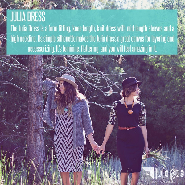 The Julia Dress by LularoechicsRebeccaashley