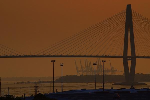 Charleston_Port_at_Dawn by LensCraft
