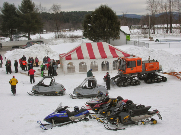 Poker Run 2008 by ChesterSnowmobileclub