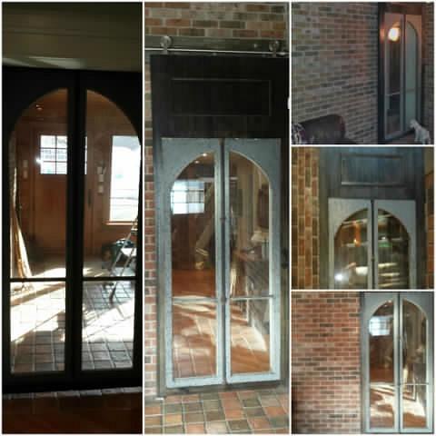 Glass Barndoor