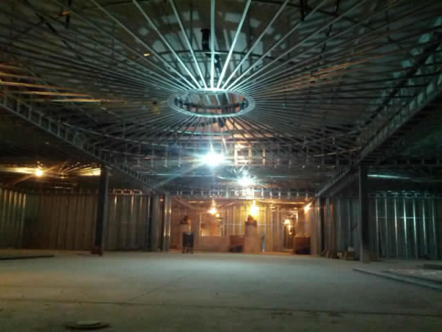 Steel ceiling framing