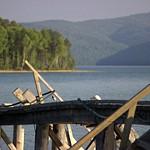 Lake Baikal. Angara River (52.040222, 104.625722)