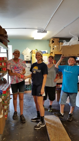 PVUMC Youth Group 7 2016 by PortVue UMC