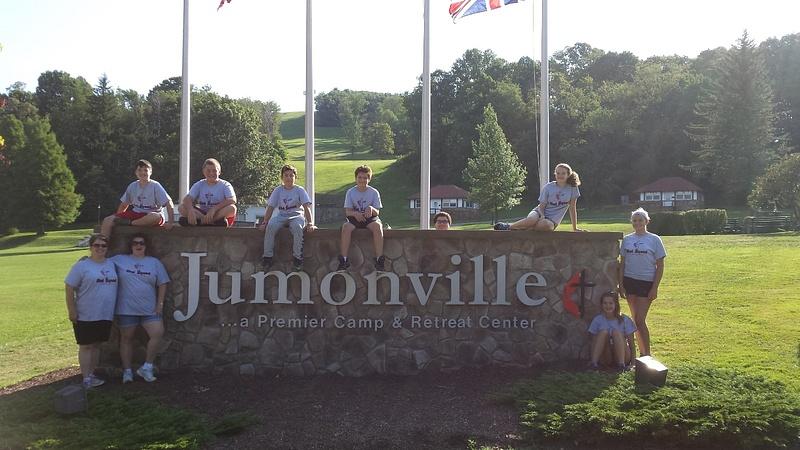 PVUMC Youth Group, Jumonville 2016