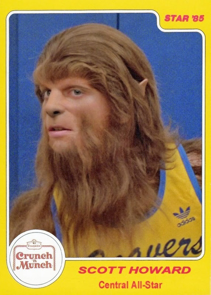 Fantasy Film Basketball Card Scott Howard by AndrewTaylor