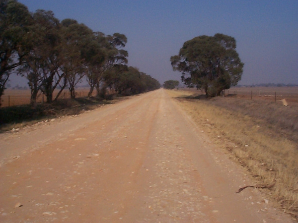 mcfarlans road towards Brim (Henty Hwy) by AndrewTaylor