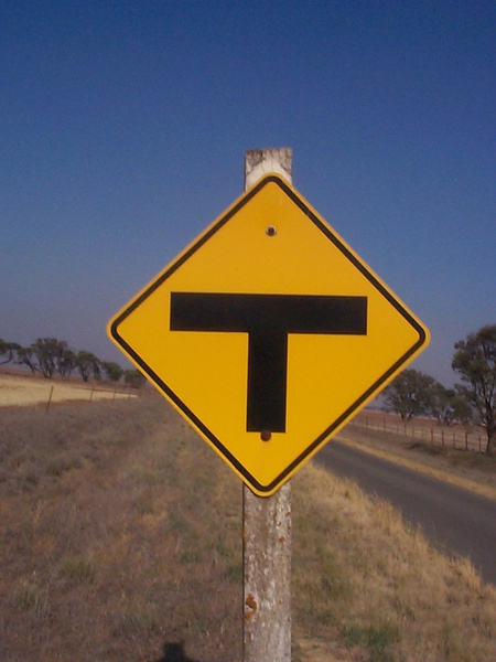 T sign by AndrewTaylor