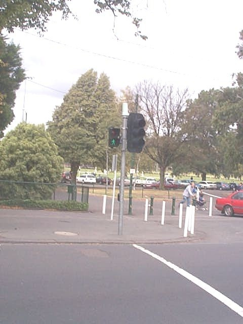 traffic light at carlton fg