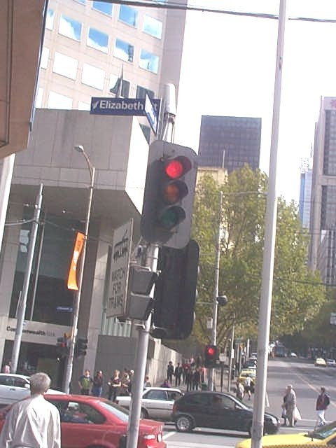 traffic light cnr bourke & Elizabeth st