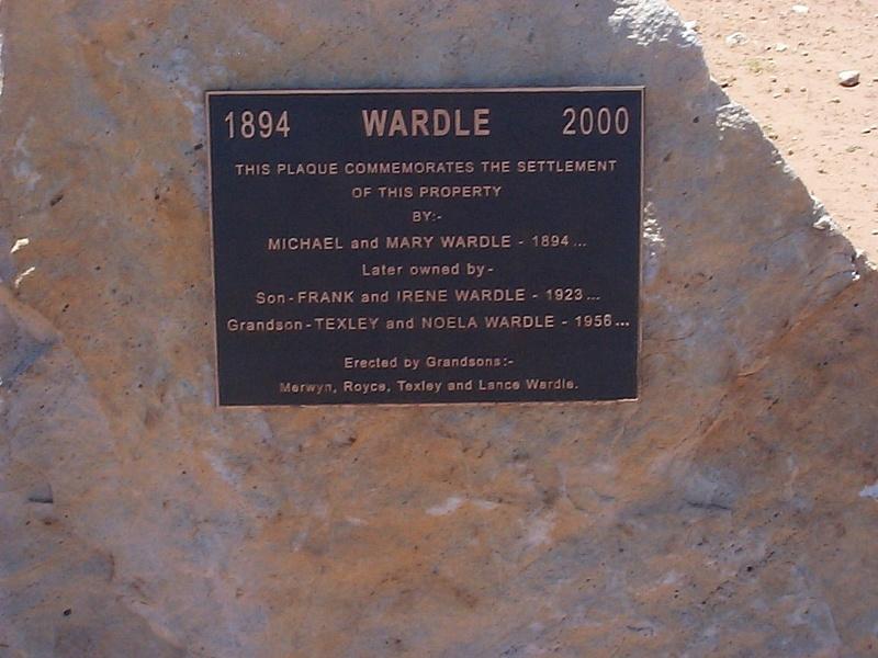 wardles plaque