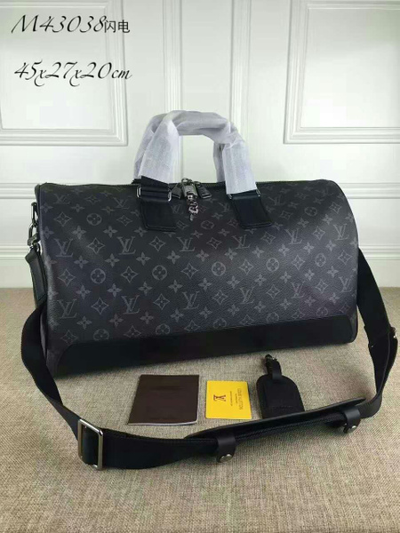 LV KEEPALL VOYAGER MONOGRAM ECLIPSE