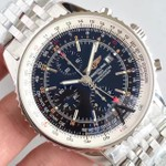 NAVITIMER GMT SS JF 1:1 BEST EDITION