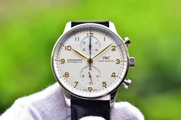 IWC PORTUGUESE AUTOMATIC CHRONOGRAPH IW371445 (YL) by...