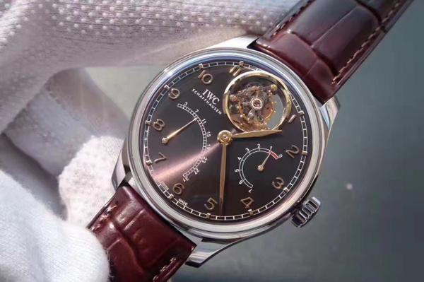 IWC LIMITED EDITION PORTUGUESE MYSTERY FLOATING TOURBILLON IW504402 (YL)