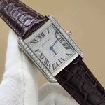 CARTIER TANK SOLO AUTOMATIC DIAMOND
