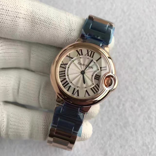 Cartier Ballon Bleu Ladies 33mm Quartz (TW)