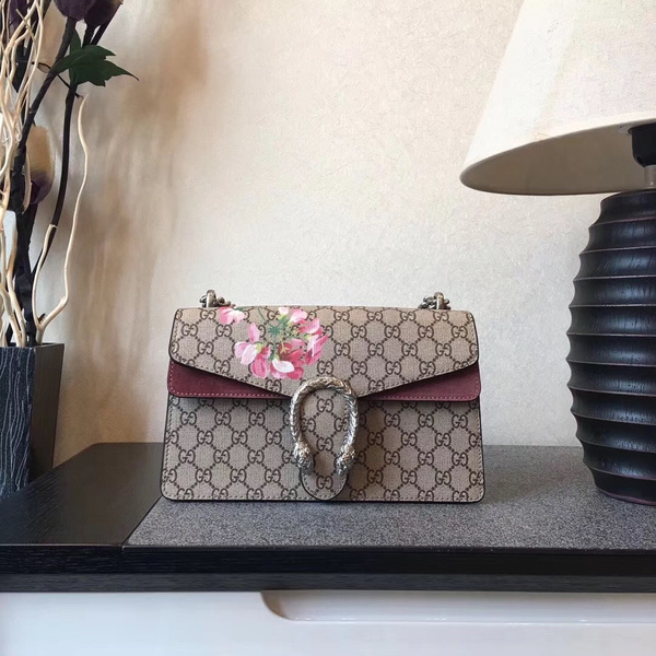 GUCCI SMALL GG BLOOMS SHOULDER BAG