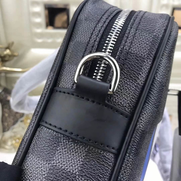 LV PORTE DOCUMENTS VOYAGE PM DAMIER GRAPHITE  (A1)